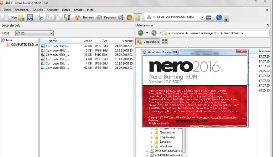Nero Burning ROM Key