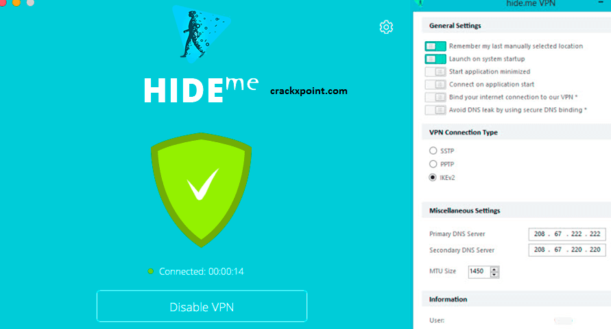 Hide.me VPN Key
